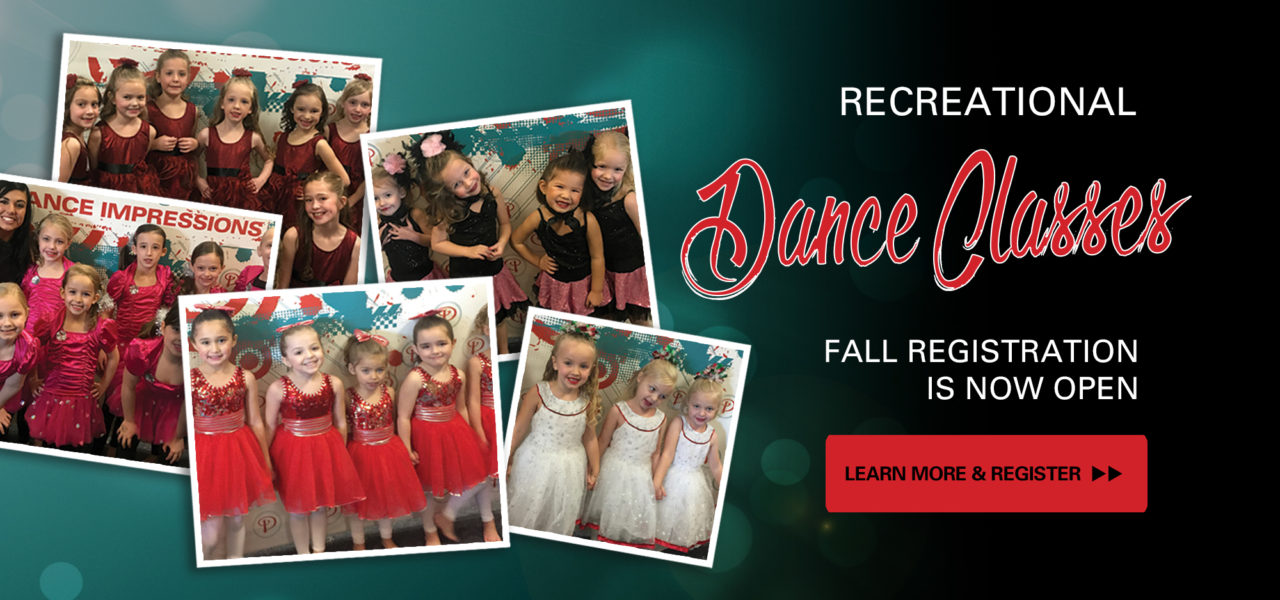 Fall Dance Class Registration
